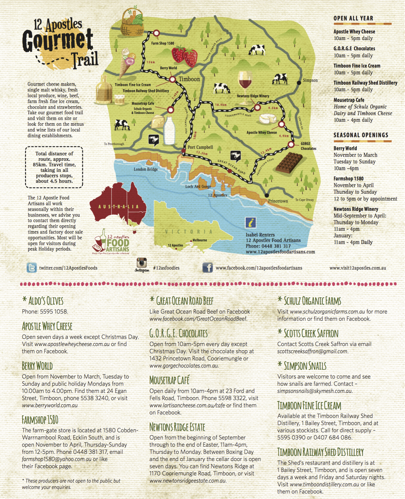 12-Apostles-Gourmet-Food-Trail-Map