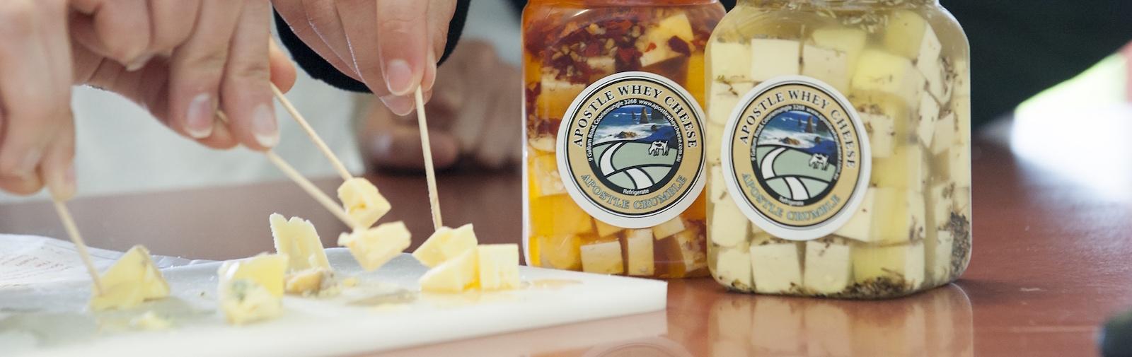 Apostle Whey Cheese Tasting